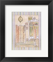 Powder Room II Framed Print