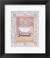 Framed Toilette I