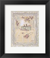 on the Town III Framed Print