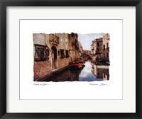 Framed Venice at Rest