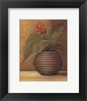 Global Pots I Framed Print