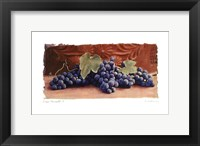 Framed Grape Harvest I