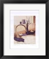 Lavender Time I Framed Print