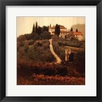 Villa I Framed Print