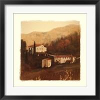 Villa II Framed Print