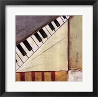 Framed Music Notes I