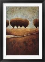 Framed Abstract Landscape II