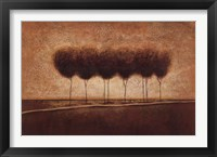 Abstract Landscape III Framed Print