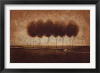 Abstract Landscape IV Framed Print
