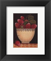 Framed Cup O'Strawberries