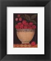 Cup O' Raspberries Framed Print