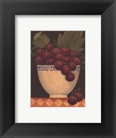 Framed Cup O' Grapes