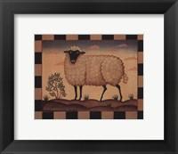 Framed Farm Sheep