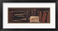 Librairie I Framed Print