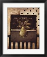 Framed Poire