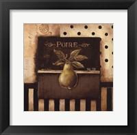 Framed Poire - Square
