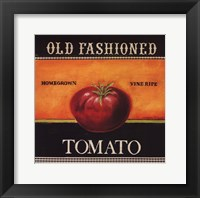 Framed Old Fashioned Tomato