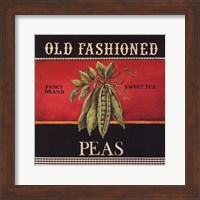 Framed Old Fashioned Peas