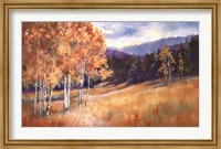 Framed Luminous Aspens