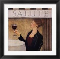 Framed Salute II