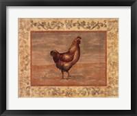 Framed Hen