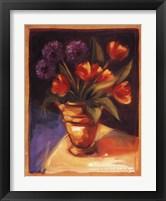 Framed Tulip  Dahlia