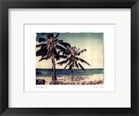 Framed Blue Horizon II