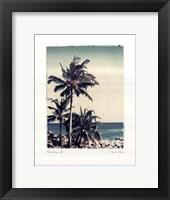 Framed Blue Horizon III