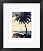 Framed Blue Horizon IV