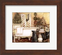 Framed Bathroom I