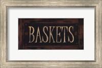 Framed Baskets