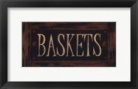 Framed Baskets
