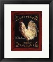 Framed Le Chanticleer