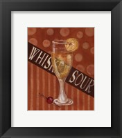 Whisky Sour Framed Print