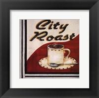 City Roast Framed Print