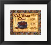Framed Red Bean Chilli