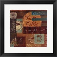 Framed Fresh Coffee II
