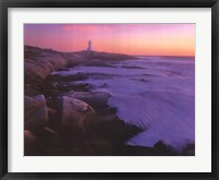 Framed Peggy's Cove
