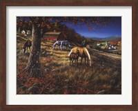 Framed Hillside Gathering