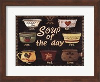Framed Soup of the Day