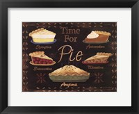 Time for Pie Framed Print