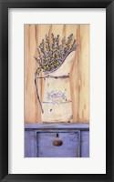 Framed Belle Bleu