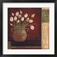 Framed Villa Tulips