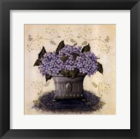 Framed Color Purple I
