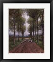 Framed Shepherd's Lane