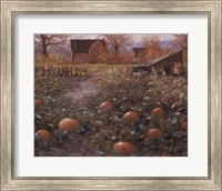 Framed Harvest Memory