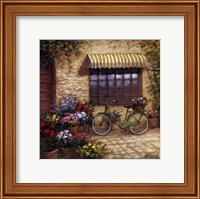 Framed Flower Peddler