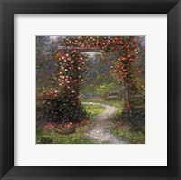 Rose Arbour I Framed Print