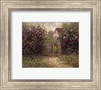 Framed Rose Gate