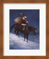 Framed Cowboy Christmas
